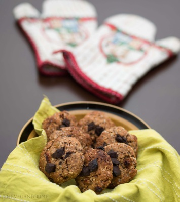 Oatmeal Choco Raisin Cookies