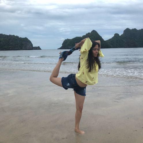 Yoga antics