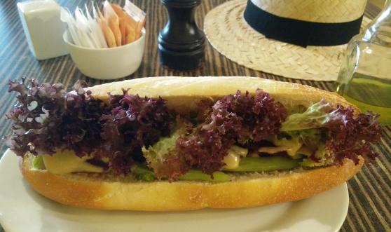 Veggie Baguette Sandwich