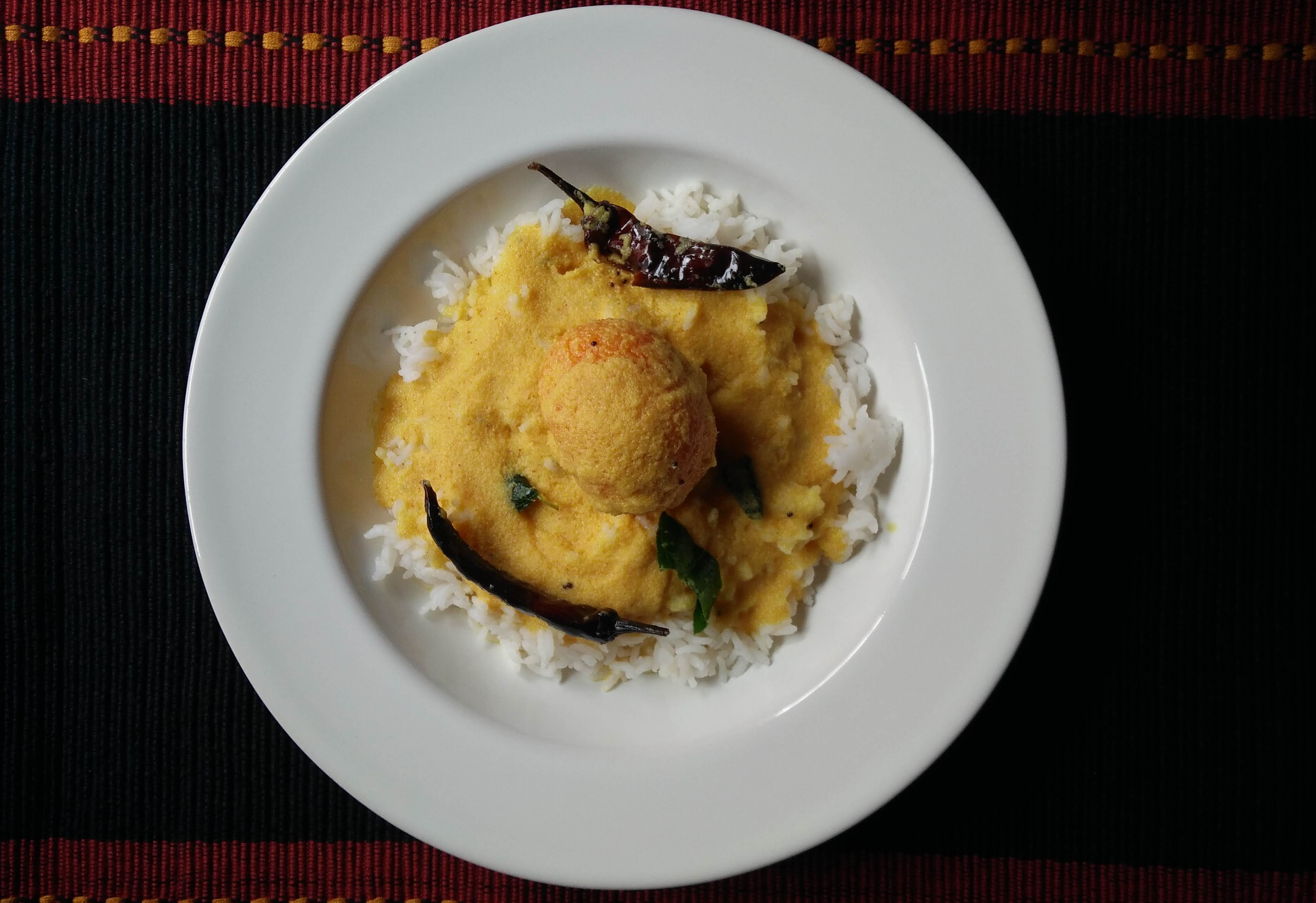 Mango Sambar with Rice